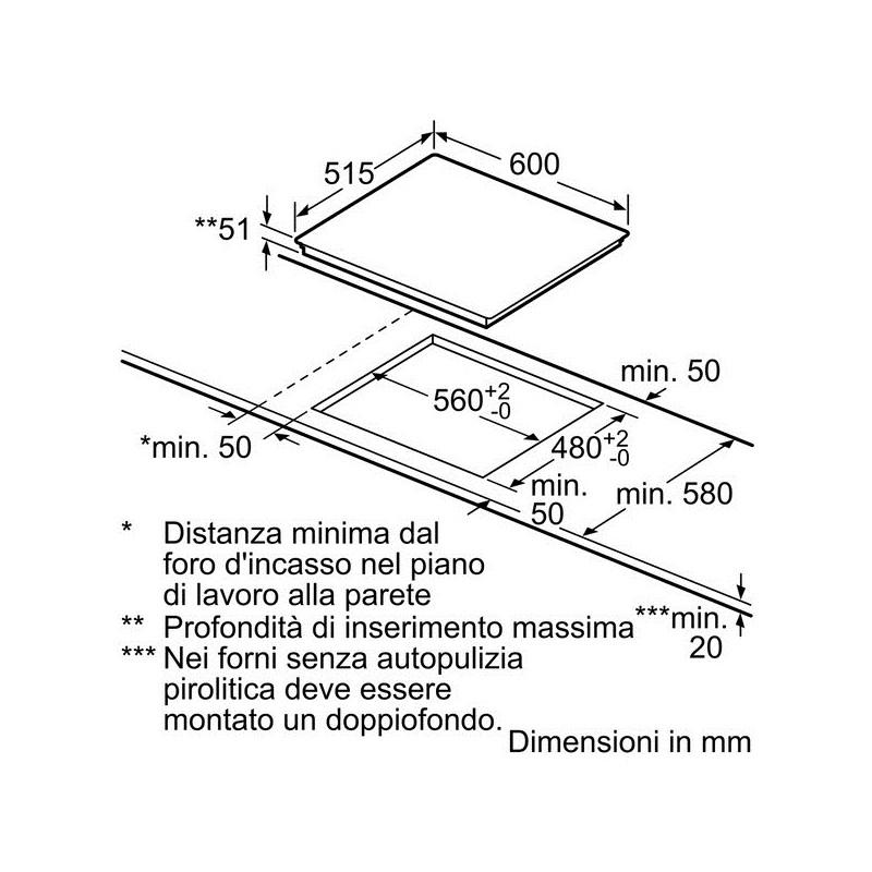 Piano Cottura Ad Induzione Dimensioni – Mobilia