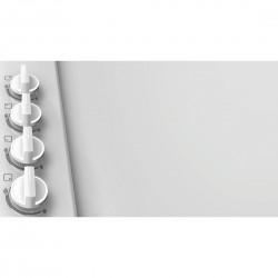 Piano gas 60cm bianco - comandi laterali bianco  PBP612B80E nuova sigla pbp6b2b80