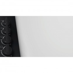 bosch pbp6b6b80 Piano gas 60cm nero - comandi laterali