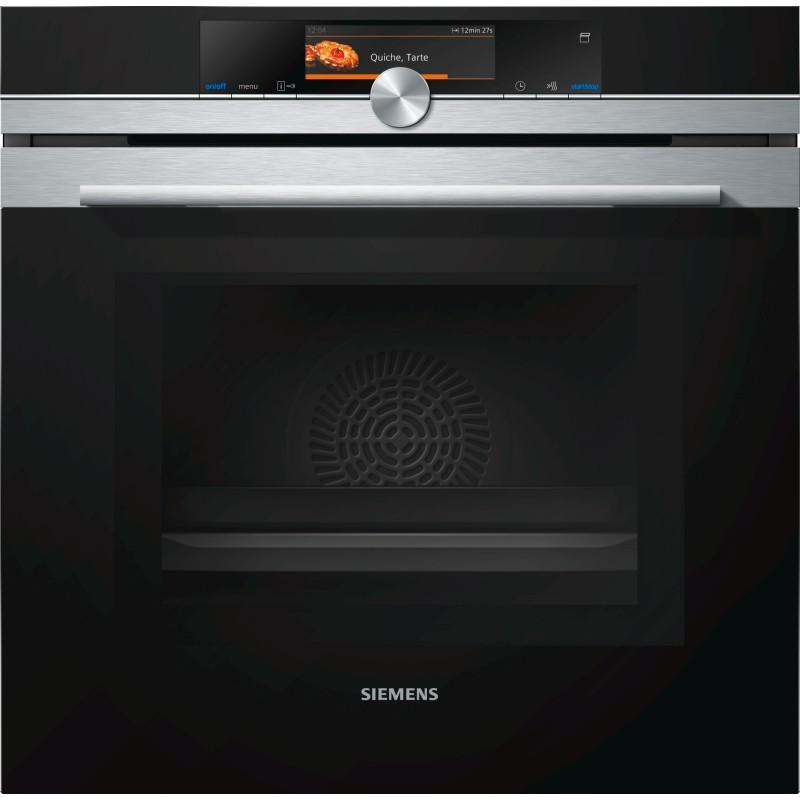 Siemens HN678G4S6 forno incasso combinato microonde con impulso vapore