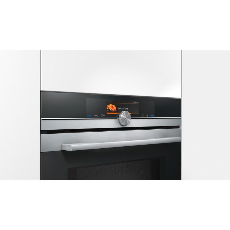 Siemens hm678g4s1 forno da incasso combinato a microonde for Forno combinato da incasso